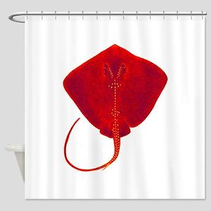 STINGRAY Shower Curtain