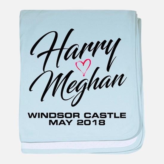 Harry Loves Meghan 2018 baby blanket