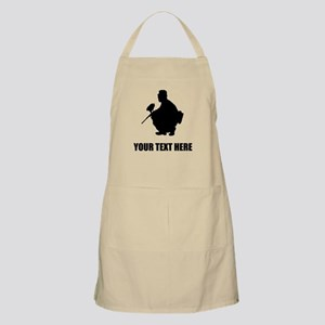 Paintball Player Silhouette Apron