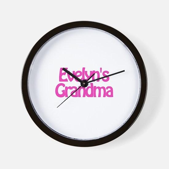 Evelyn's Grandma Wall Clock