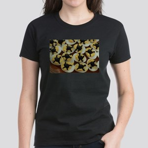 Halloween party deviled eggs with olive sp T-Shirt