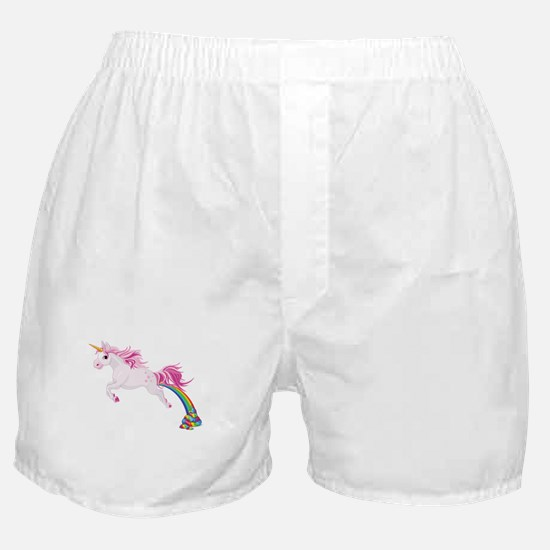 Unicorn Pooping Boxer Shorts