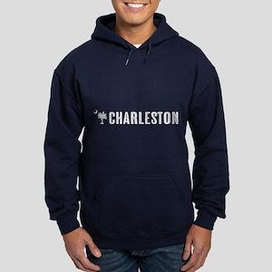 Charleston, South Carolina Hoodie (dark)