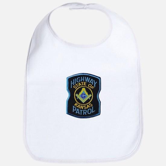 Kansas Highway Patrol Mason Bib