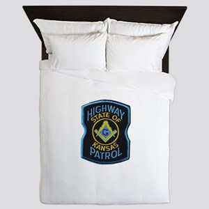 Kansas Highway Patrol Mason Queen Duvet