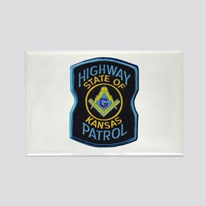 Kansas Highway Patrol Mason Magnets