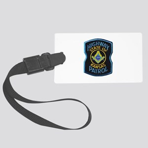 Kansas Highway Patrol Mason Luggage Tag