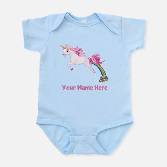 Unicorn Pooping Body Suit