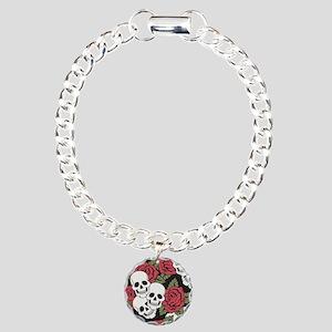 Skulls and Roses Bracelet