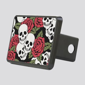 Skulls and Roses Hitch Cover