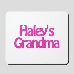Haley's Grandma Mousepad