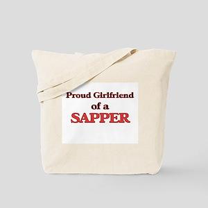 Proud Girlfriend of a Sapper Tote Bag