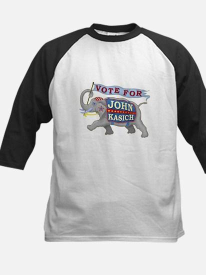 John Kasich 2016 Elephant Ele Kids Baseball Jersey