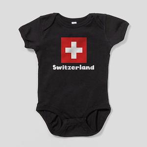 Swiss Flag Baby Bodysuit