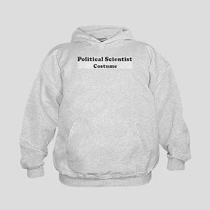Political Scientist costume Kids Hoodie