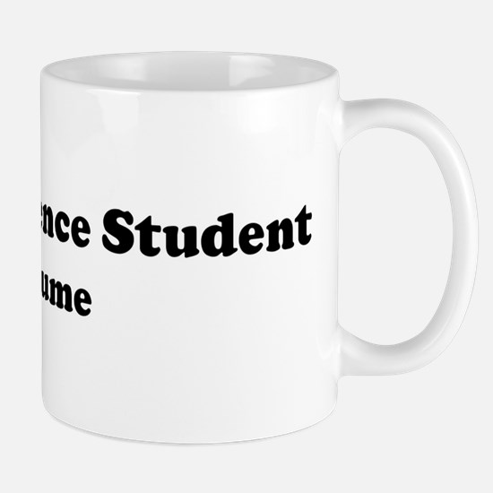 Political Science Student cos Mug