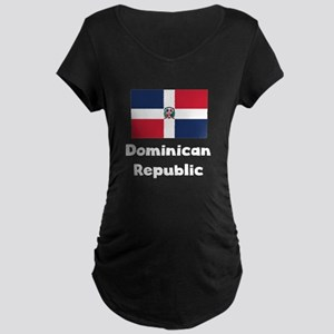 Dominican Flag Maternity T-Shirt