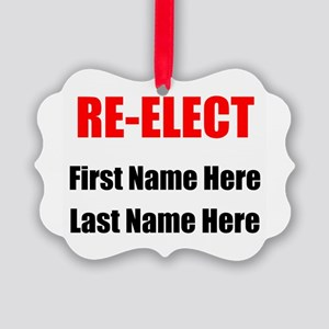 Reelect Ornament