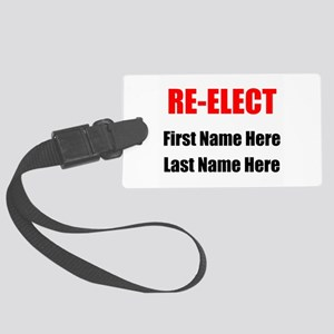 Reelect Luggage Tag