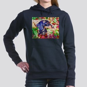 Weenie Dog Watercolor Sweatshirt