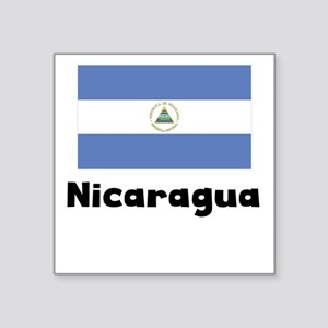 Nicaraguan Flag Sticker