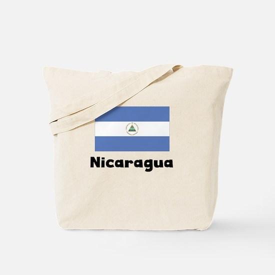 Nicaraguan Flag Tote Bag