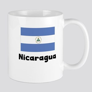 Nicaraguan Flag Mugs