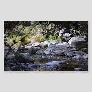 woodland stream Sticker