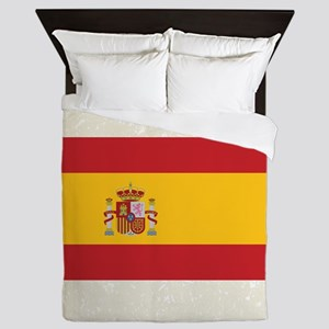 Spanish Flag Queen Duvet