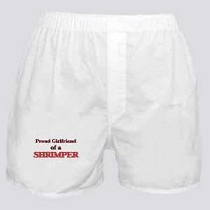 Proud Girlfriend of a Shrimper Boxer Shorts