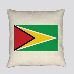 Guyanan Flag Everyday Pillow