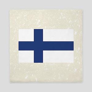 Finnish Flag Queen Duvet