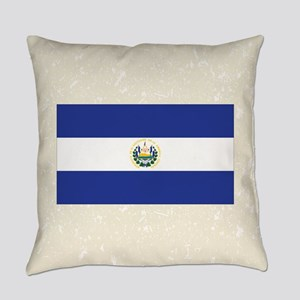 El Salvadorian Flag Everyday Pillow