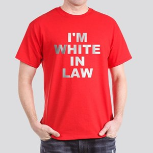I'm White In Law Men's Dark T-Shirt