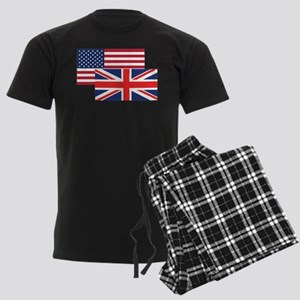 American And British Flag Pajamas