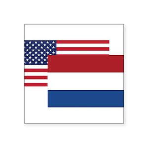 dutch flag stickers cafepress