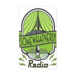 Somewhatnerdy Radio Logo Sticker