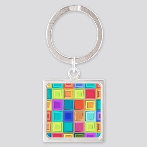 Colorful Retro Keychains
