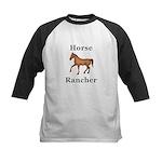 Horse Rancher Kids Baseball Jersey