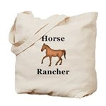 Horse Rancher Tote Bag