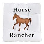 Horse Rancher Tufted Chair Cushion