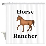 Horse Rancher Shower Curtain