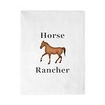 Horse Rancher Twin Duvet