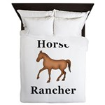Horse Rancher Queen Duvet