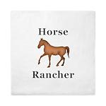 Horse Rancher Queen Duvet