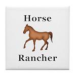 Horse Rancher Tile Coaster