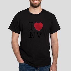 I Love NV Nevada Dark T-Shirt