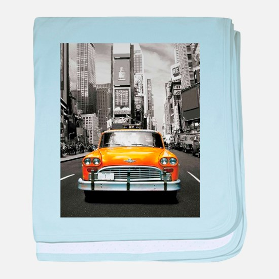 I LOVE NYC - New York Taxi baby blanket