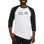 Horse Trainer Baseball Jersey