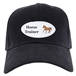Horse Trainer Black Cap